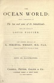 Cover of: The ocean world by Louis Figuier