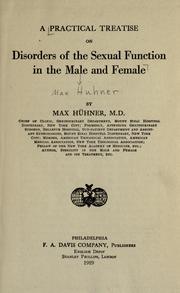 A practical treatise on disorders of the sexual function in the male and female PDF