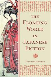 The floating world in Japanese fiction by Howard Hibbett