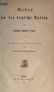 Reden an die deutsche Nation PDF