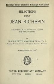 Selections from Jean Richepin PDF