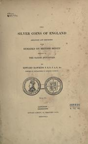 The silver coins of England by edward hawkins