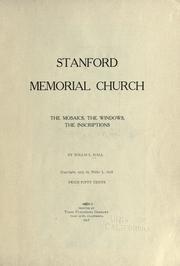 Stanford memorial church PDF