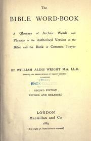 The Bible word-book PDF