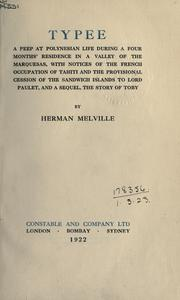 Cover of: Typee by Herman Melville