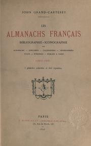 Les almanachs français by Grand-Carteret, John