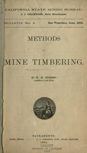 Methods of mine-timbering PDF