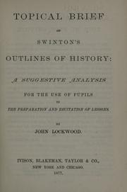 Topical brief of Swinton's Outlines of history PDF