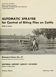 Automatic sprayer for control of biting flies on cattle PDF