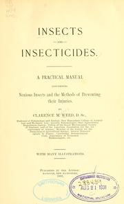 Insects and insecticides by Clarence Moores Weed