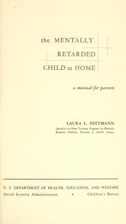 The mentally retarded child at home PDF
