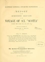 Report of the scientific results of the voyage of S.Y. Scotia during the years 1902, 1903, and 1904 PDF