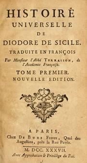 Bibliotheca historica by Diodorus Siculus