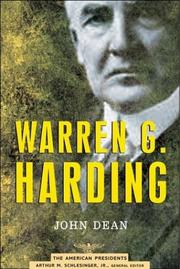 Warren G. Harding by Dean, John W.
