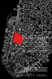 Sixteen acres by Philip Nobel