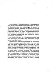A pintura portugueza nos seculos XV e XVI.