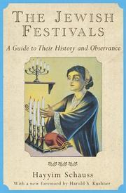 The Jewish festivals PDF
