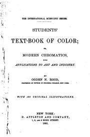 Students' text-book of color PDF