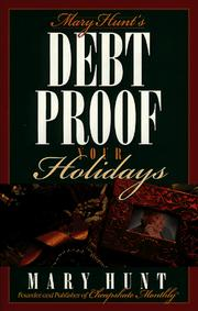 Mary Hunt's debt proof your holidays PDF