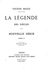 La lgende des sicles by Victor Hugo