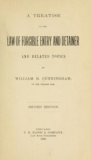 A treatise on the law of forcible entry and detainer and related topics PDF