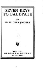 Seven keys to Baldpate PDF