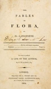 The fables of Flora by Langhorne, John