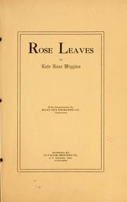 Rose leaves PDF