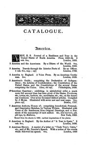 Catalogue of a collection of books, mostly printed in London and on the continent of Europe ... forming the library of Mr. Richard Grant White.