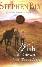 Wish I'd Known You Tears Ago (Horse Dreams Trilogy, Book 3) PDF