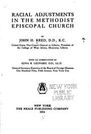Racial adjustments in the Methodist Episcopal church PDF