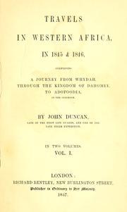 Travels in Western Africa in 1845 & 1846 PDF