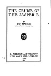 The cruise of the Jasper B PDF