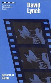 Filmmakers Series - David Lynch PDF