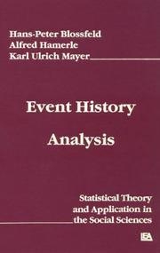 Event history analysis by Hans-Peter Blossfeld