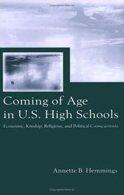 Coming of age in U.S. high schools by Annette B. Hemmings