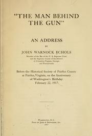 The man behind the gun PDF