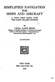 Simplified navigation for ships and aircraft PDF