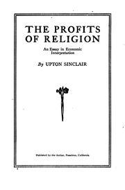 The Profits of Religion PDF