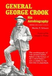General George Crook by George Crook
