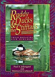 Ruddy ducks & other stifftails PDF
