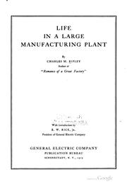 Life in a large manufacturing plant PDF