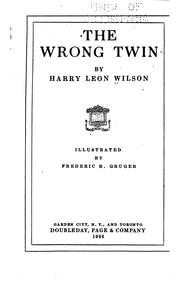 The Wrong Twin PDF