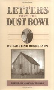 Letters from the Dust Bowl by Caroline A. Henderson