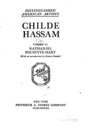 Childe Hassam by Childe Hassam
