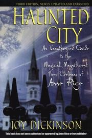 Haunted city by Joy Dickinson