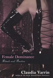Female Dominance: Rituals And Practices PDF