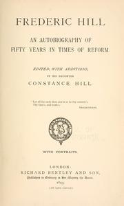 Frederic Hill PDF