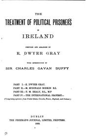 The treatment of political prisoners in Ireland PDF