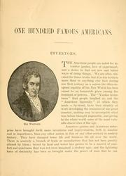 One hundred famous Americans by Helen Ainslie Smith
